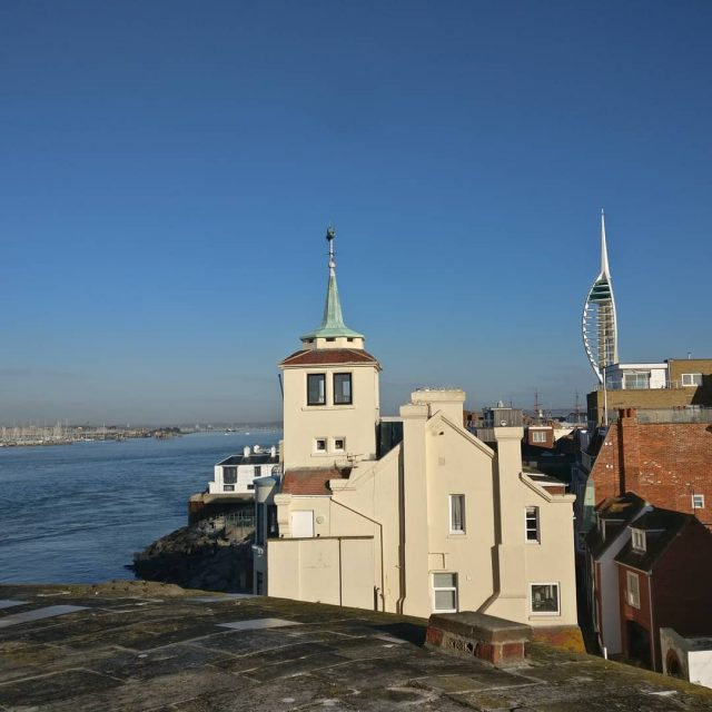 Gunwharf amp Old Portsmouth views this morning portsmouth sunny morningviewhellip